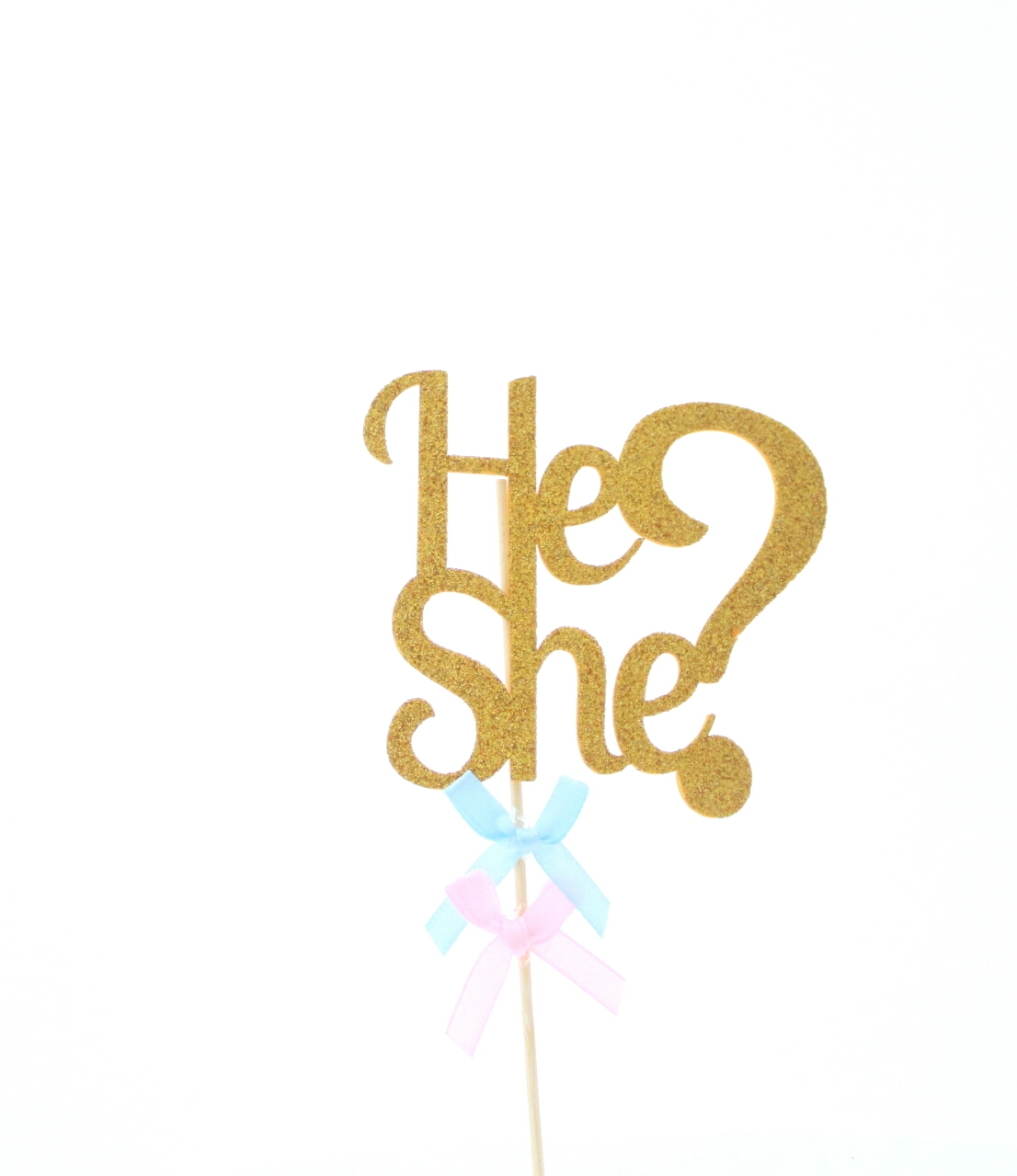 He or she taarttopper