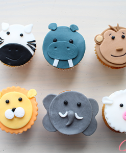 Dieren cupcakes Jose bakery