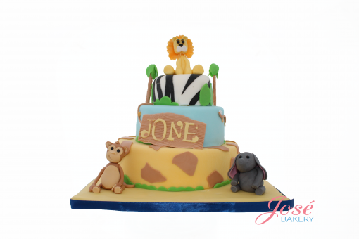 Jungle taart 30 personen