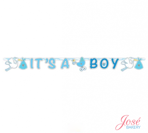 It's a boy letterslinger Jose bakery