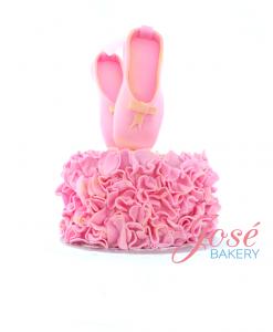 Ballerina taart Jose bakery 2