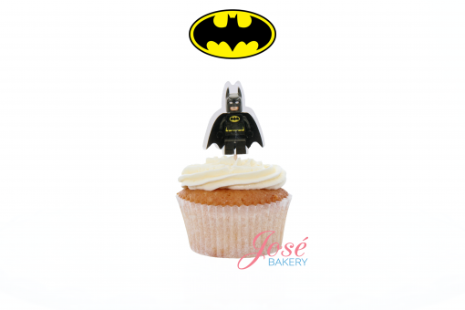 Batman lego cupcake toppers