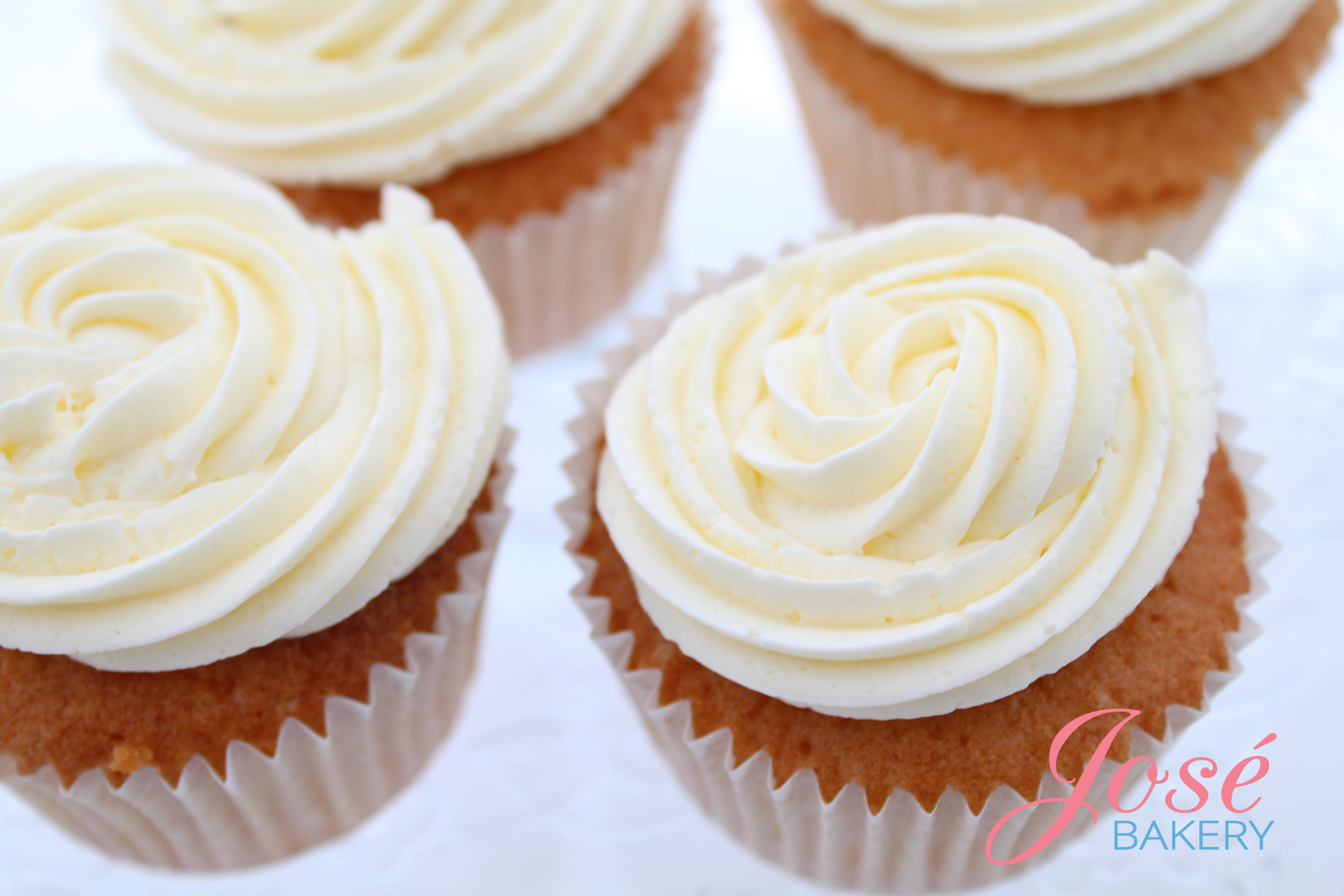 Cupcakes met toef Jose bakery