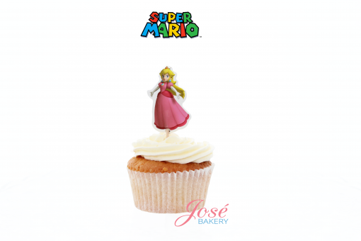 Prinses Peach cupcake toppers Jose bakery