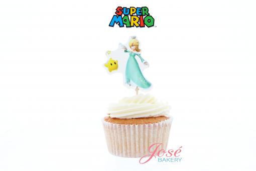 Prinses Rosalina cupcake toppers jose bakery