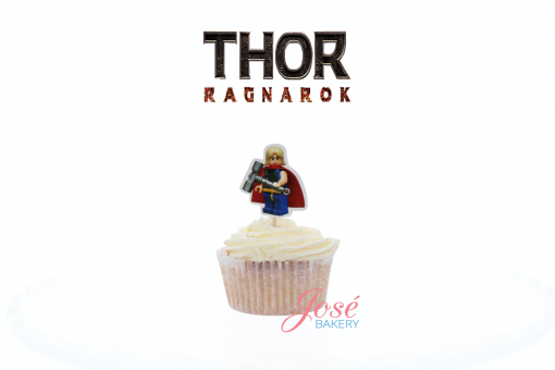 Thor cupcake toppers Jose bakery