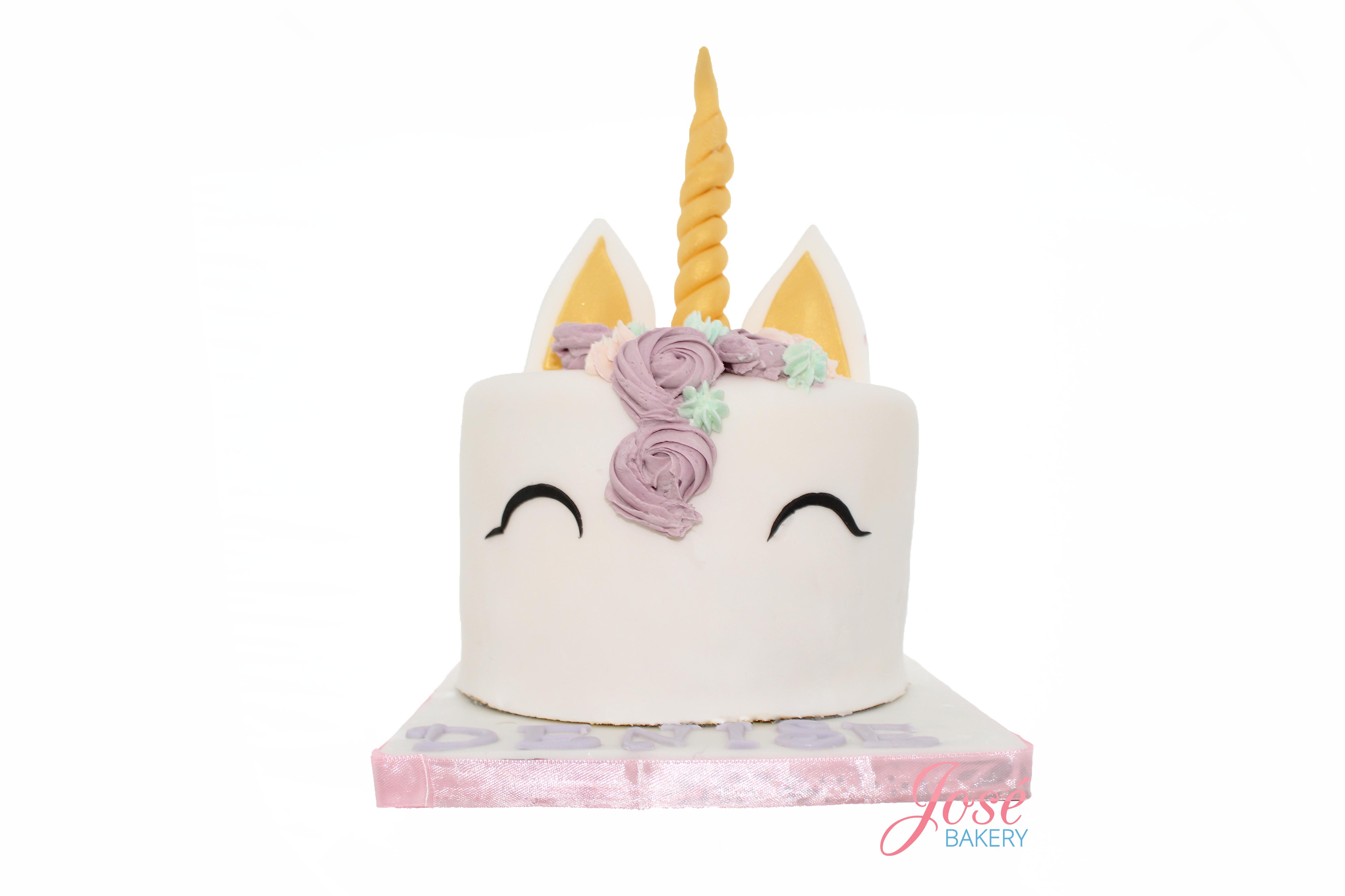 taart sturen Eenhoorn taart bestellen vanaf 10 personen | Jose bakery taart sturen