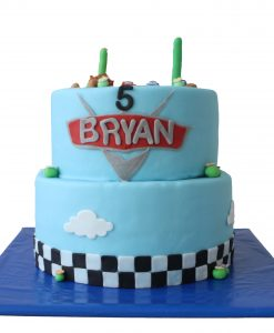 Cars taart 15 personen