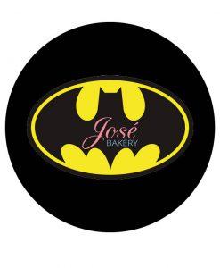 Batman logo taartprint 20 cm