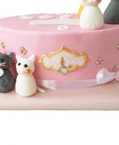 Katten verjaardagstaart 25 personen